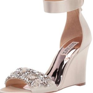 Badgley Mischka Lauren Wedge Sandal